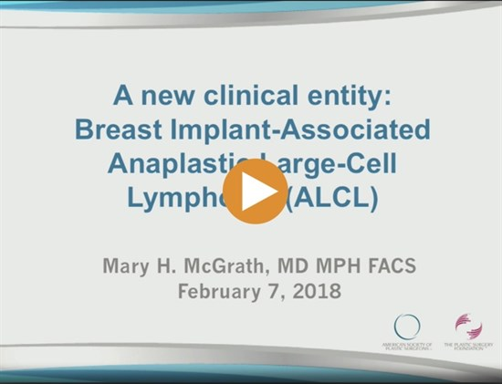 Breast Implant Associated Anaplastic Large Cell Lymphoma BIA ALCL